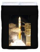 Delta Iv Rocket Taking Off Duvet Cover