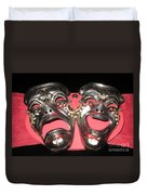 Masques / Tragedy/comedy Masks Duvet Cover