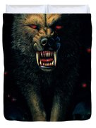 Demon Wolf Duvet Cover