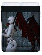 Demonic Love Duvet Cover