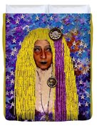 Demonica Vintage Goth Duvet Cover