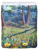Demonstration Garden Duvet Cover