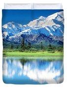 Denali National Park Ak Usa Duvet Cover