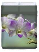 Dendrobium  6398 Duvet Cover