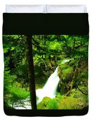 Denny Camp Falls  Duvet Cover