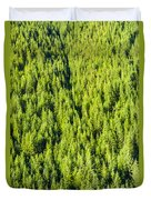 Dense Forest Duvet Cover
