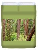 Dense Forest View Duvet Cover