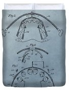 Dental Braces Patent Design Duvet Cover