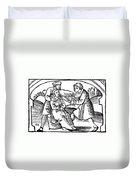Dentistry, 1542 Duvet Cover