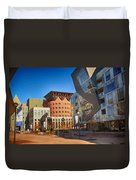 Denver Art Museum Courtyard Duvet Cover