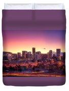 Denver Sunrise Duvet Cover
