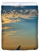 Departing From Ewr  Duvet Cover