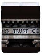 Depositors Trust Company Duvet Cover