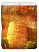 Derawar Fort Duvet Cover
