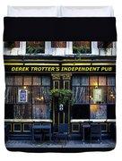 Derek Trotter's Pub Duvet Cover