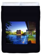 Deschutes Bridge  Anderson Ca  Watercolor   Duvet Cover