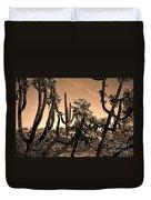 Desert At Dusk Duvet Cover