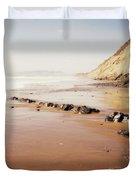 Desert Beach Duvet Cover
