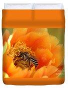 Desert Bee Duvet Cover
