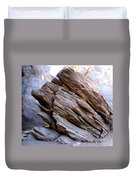 Desert Boulder Duvet Cover