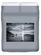 Desert Cross Duvet Cover