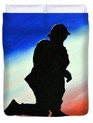 Desert Duty II Duvet Cover
