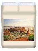 Desert Haze Duvet Cover