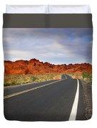 Desert Highway Duvet Cover