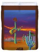 Desert Jam Duvet Cover