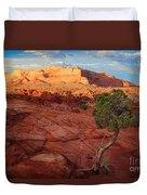 Desert Juniper Duvet Cover by Inge Johnsson