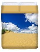 Desert Landscape In Manitoba Duvet Cover