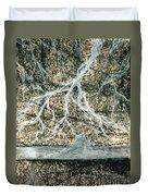 Desert Lightning Duvet Cover