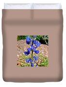Desert Lupine-arizona   Duvet Cover