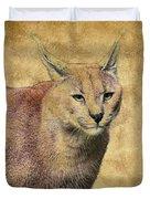 Desert Lynx Duvet Cover