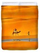 Desert Mirage Duvet Cover