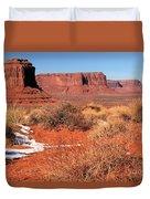 Desert Monuments Duvet Cover