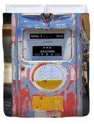 Desert Mountain Super Gasoline - Bennett Gas Pump Duvet Cover