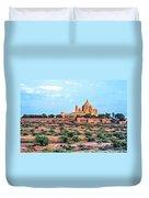 Desert Palace Duvet Cover