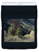 Desert Palms Duvet Cover