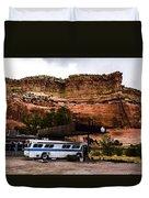 Desert Pit Stop Duvet Cover