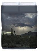 Desert Storm Beauty Duvet Cover