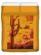 Desert Sunset Photo Art 04 Duvet Cover