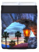 Desert Sunset View Duvet Cover