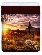Desert Sunshine  Duvet Cover