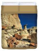 Desert Towers Duvet Cover