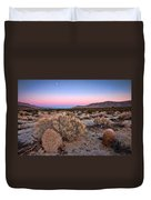Desert Twilight Duvet Cover