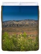 Desert Valley Scene 7 Duvet Cover