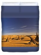 Desert Village Duvet Cover