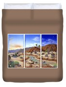Desert Vista Large Duvet Cover