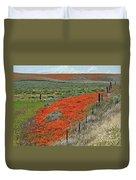 Desert Wildflowers Duvet Cover
